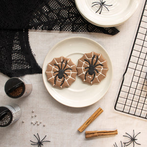 spider in web chocolate cookies