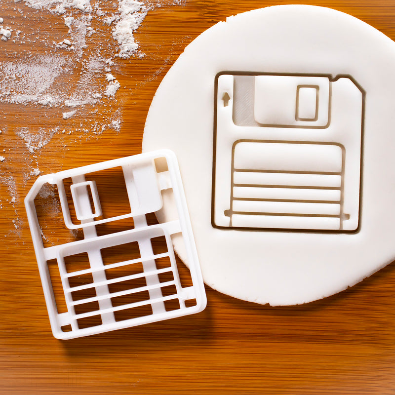 floppy disk cookie cutter