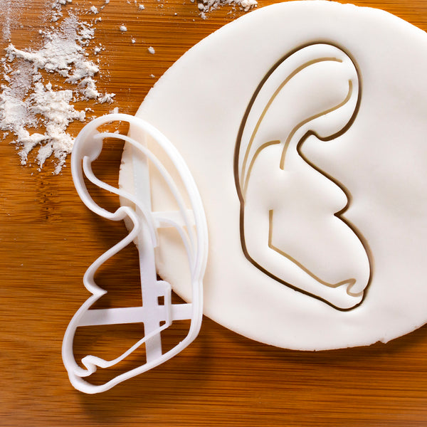 Pregnant Woman Cookie Cutter