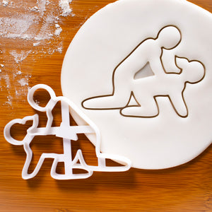 Doggy Sex Position Cookie Cutter