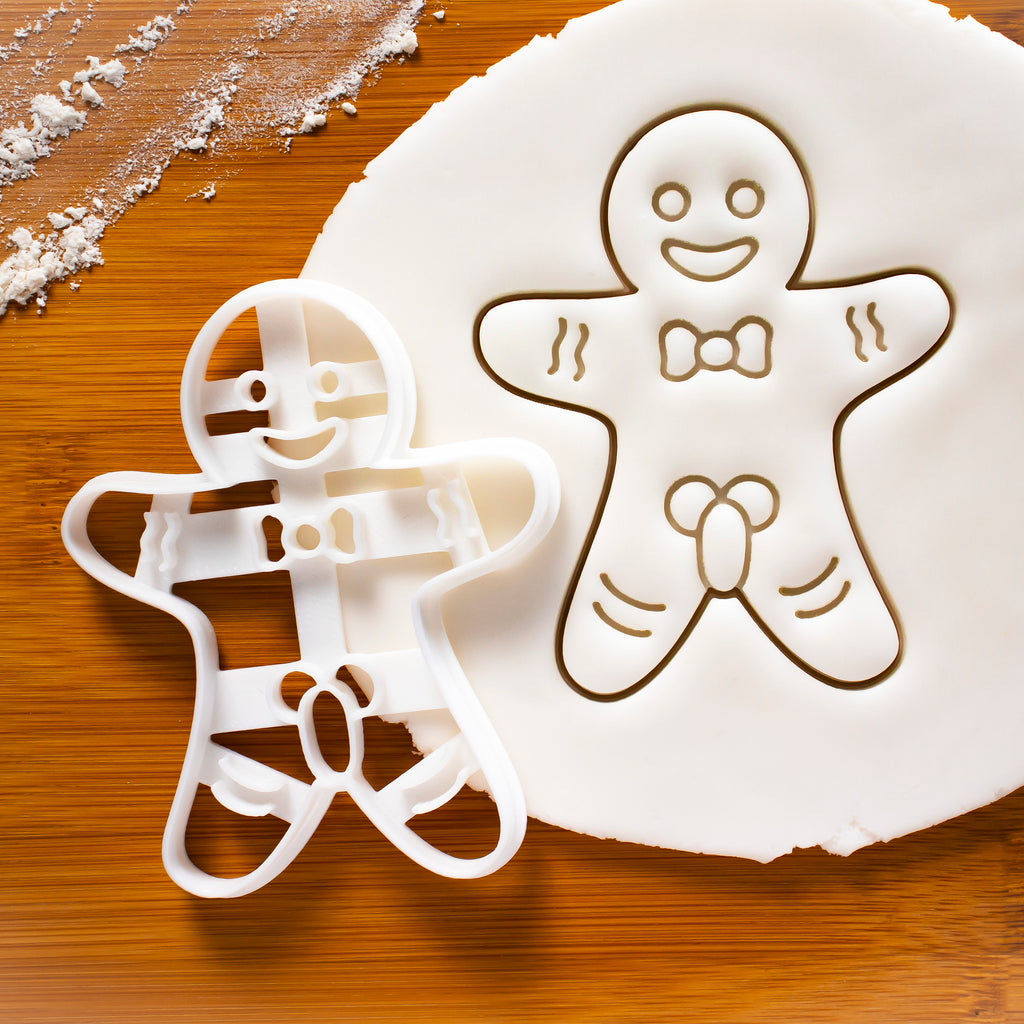 Mature Gingerbread Man Cookie Cutter