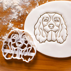 English Springer Spaniel Face Cookie Cutter