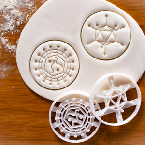 Adenovirus & Retrovirus Cookie Cutters