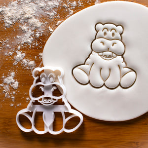 Baby Hippo Cookie Cutter