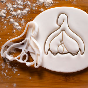Clitoris Anatomy Cookie Cutter