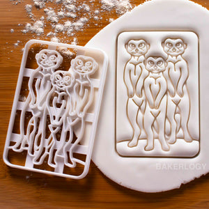 Meerkat Cookie Cutter