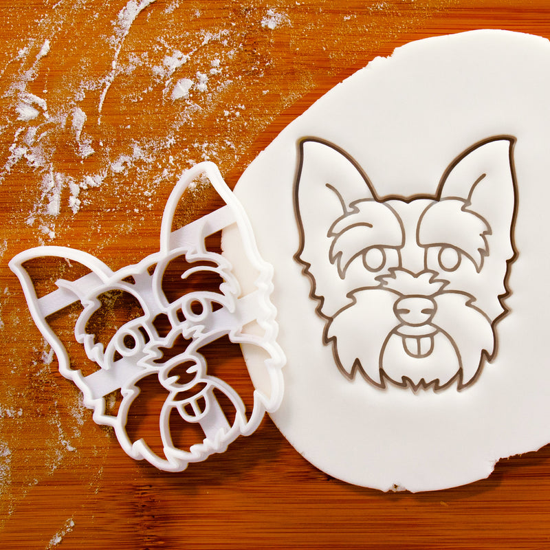 Yorkshire Terrier Face cookie cutter