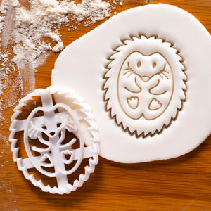 Hedgehog Cookie Cutter (Profile)