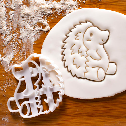 Hedgehog Cookie Cutter (Side)