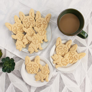 french bulldog cookies