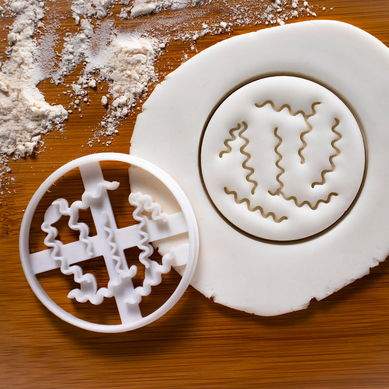 Spiral Bacteria Cookie Cutter