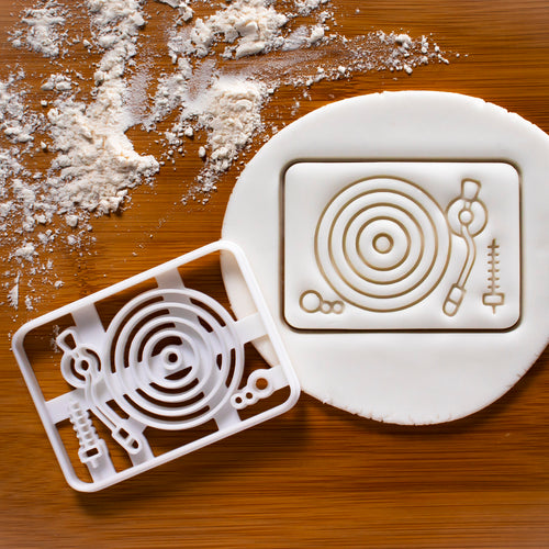 Vinyl Player Cookie Cutter