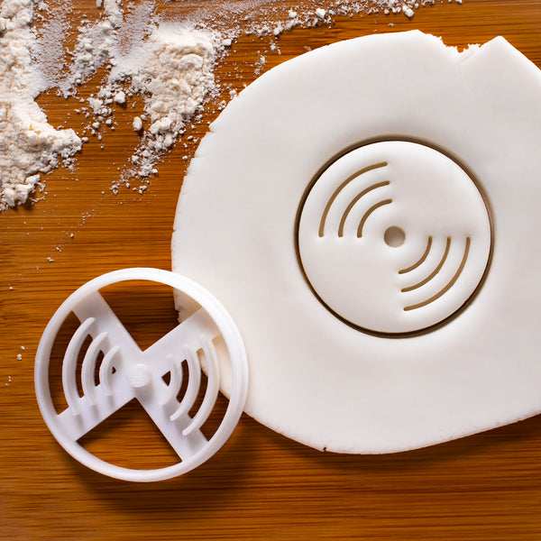 Vinyl Disc Cookie Cutter