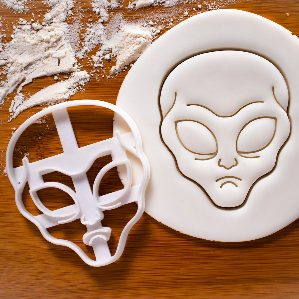 Grey Alien Cookie Cutter