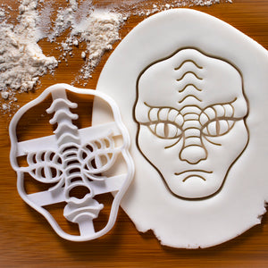 Reptilian Alien Cookie Cutter