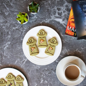 ufo abduct pizza matcha halloween cookies