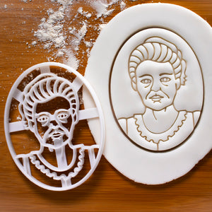 Marie Curie Cookie Cutter