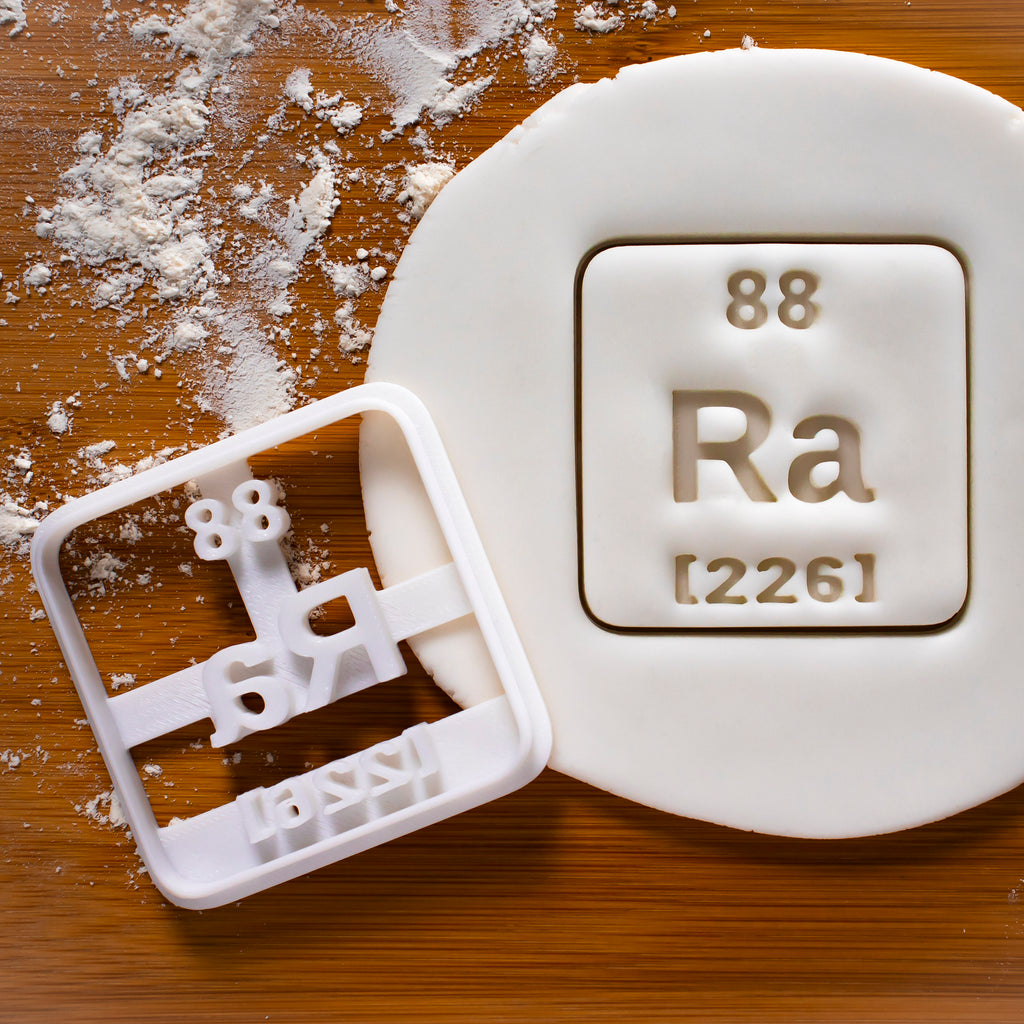 Periodic Table Element Radium Cookie Cutter