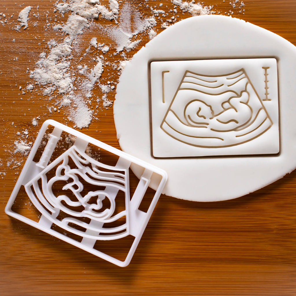 Pregnancy Ultrasound Scan Cookie Cutter