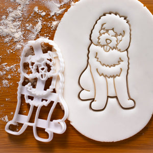 Goldendoodle Body Cookie Cutter