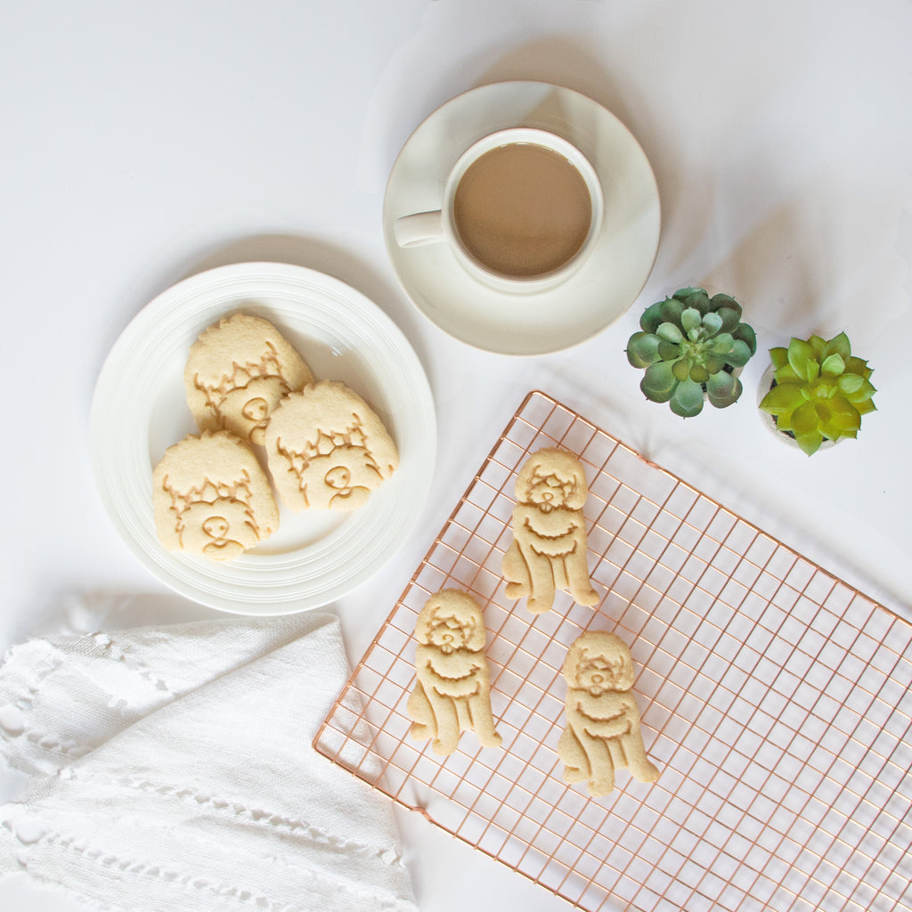 goldendoodle dog cookies