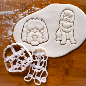 Set of 2 Goldendoodle Cookie Cutters