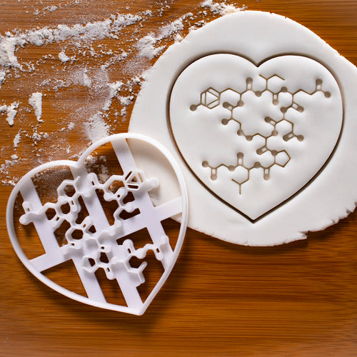 Oxytocin Molecule Cookie Cutter