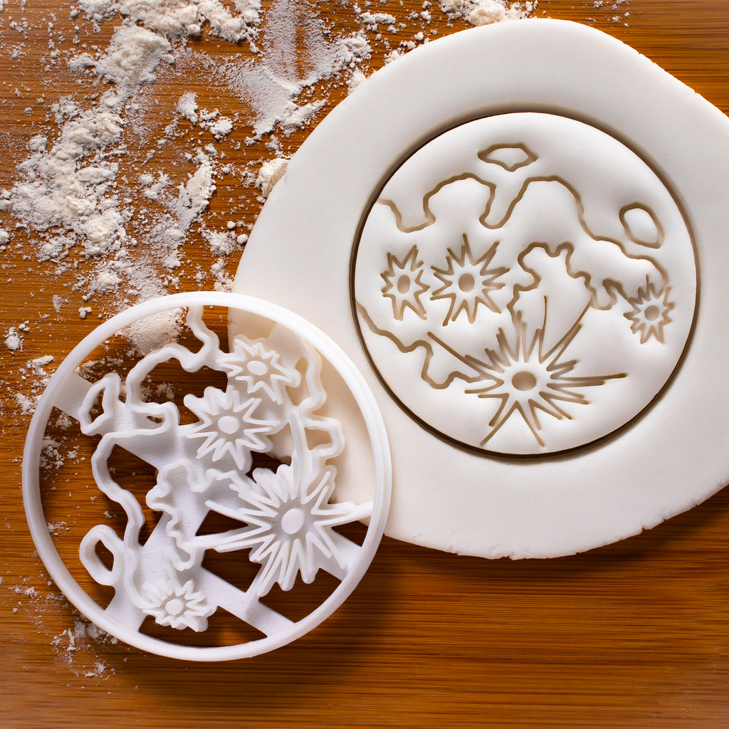 Moon Craters Cookie Cutter
