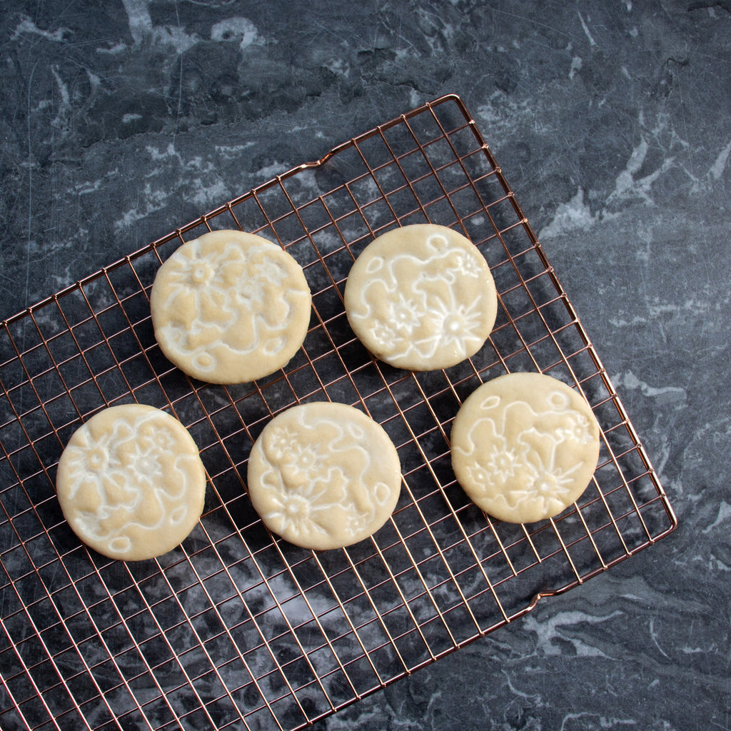 moon craters cookies