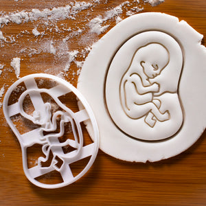 10 Weeks Fetal Development Cookie Cutter