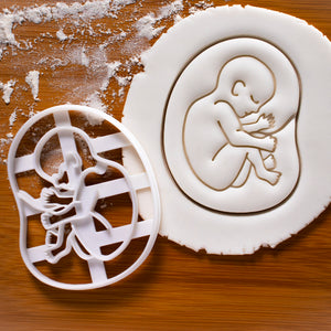 20 Weeks Fetal Development Cookie Cutter