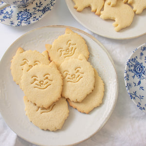 pomeranian dog face cookies