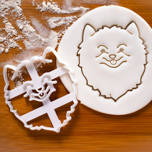 Pomeranian Face Cookie Cutter