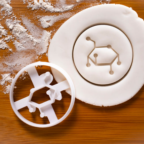 Glucose Molecule Cookie Cutter