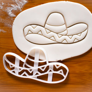 Sombrero Hat Cookie Cutter