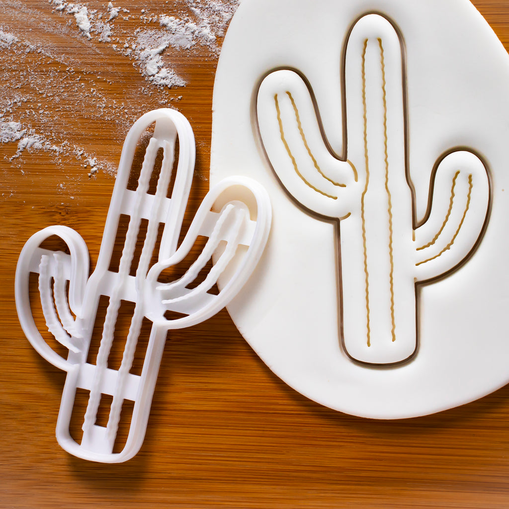 Tall Cactus Cookie Cutter (Saguaro)