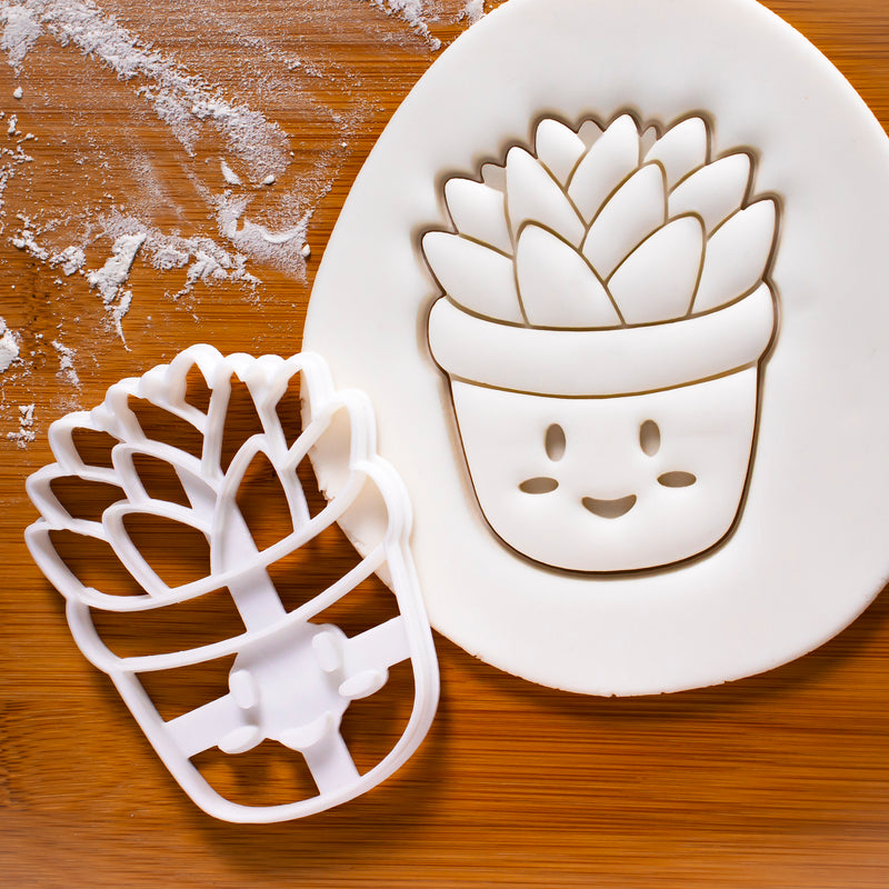 Kawaii Succulent Cookie Cutter