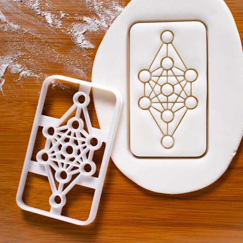9 Realms of Yggdrasil Cookie Cutter