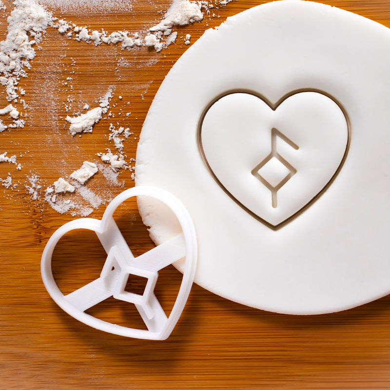 Nordic Rune - Good Health Cookie Cutter