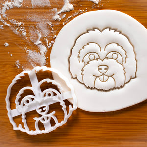 Maltipoo Face Cookie Cutter