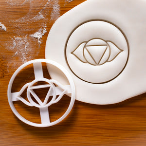 Yoga Chakra - Ajna Cookie Cutter