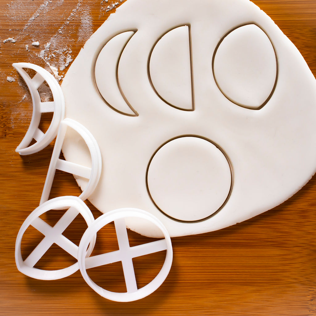 Moon Cycle Cookie Cutters