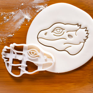 Pogona Bearded Dragon Face Cookie Cutter