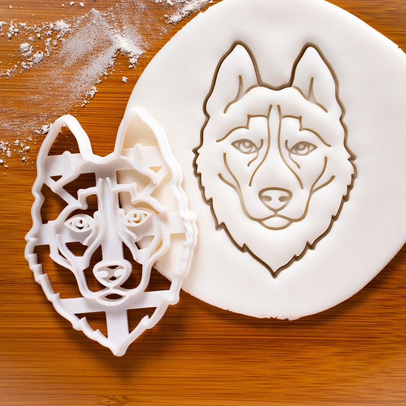 Husky Face Cookie Cutter