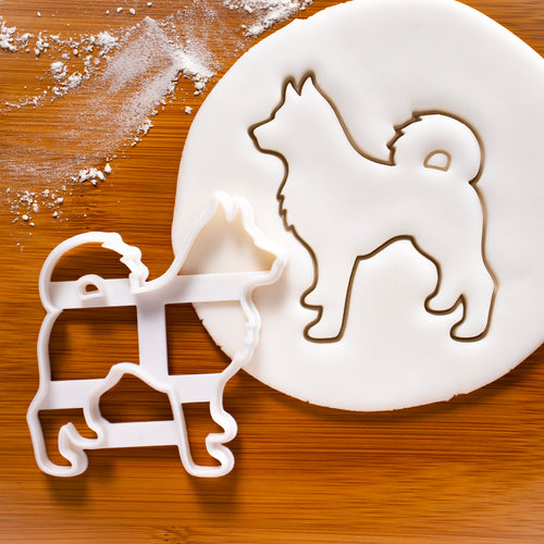 Husky Body Cookie Cutter