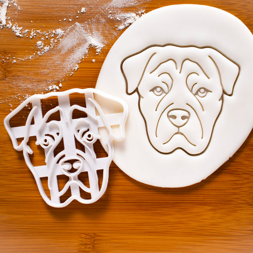 Rottweiler Face Cookie Cutter