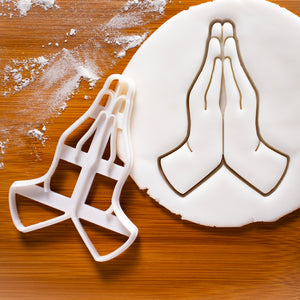 Namaste Hands Cookie Cutter