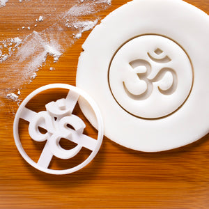 Aum Om Symbol Cookie Cutter