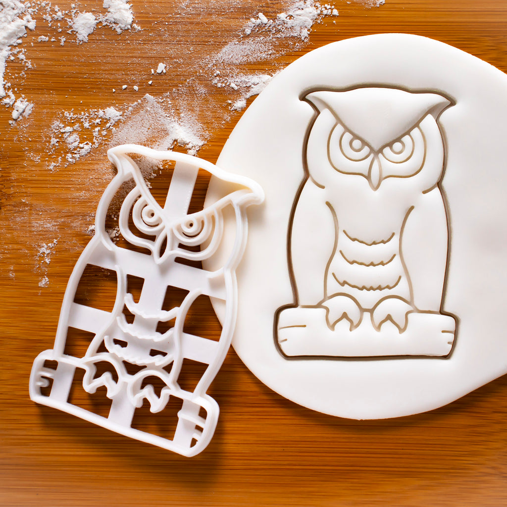Great Horned Owl Cookie Cutter