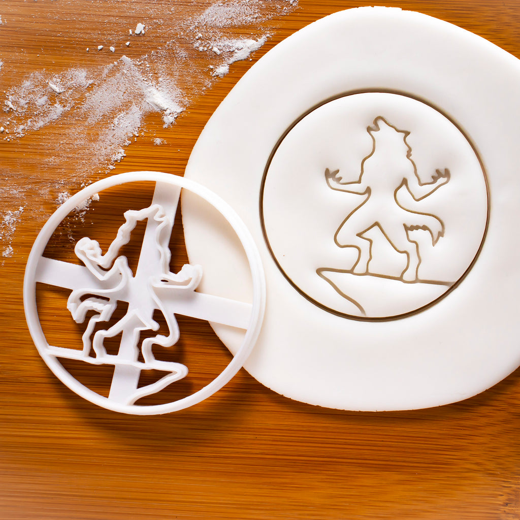 Werewolf Cookie Cutter